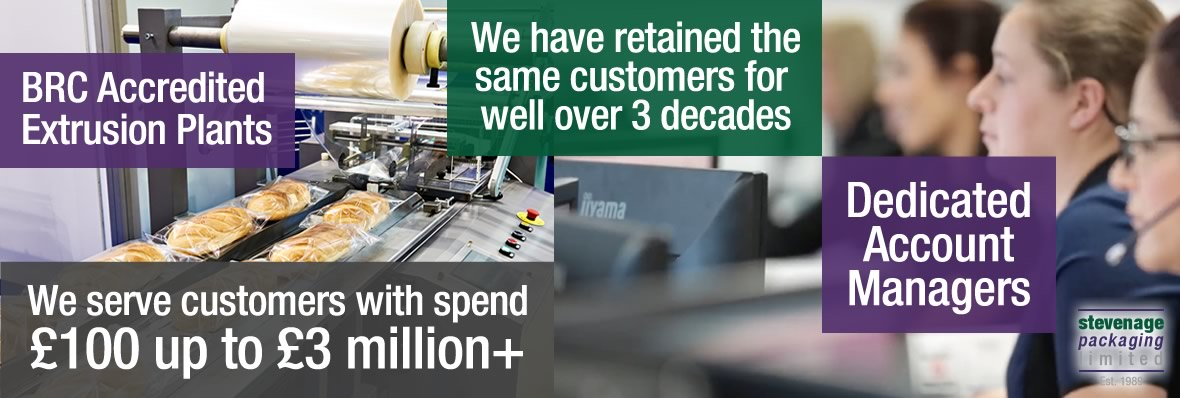 We serve customers customers with spends from £100 to £3 million plus