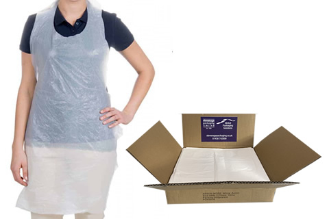 Disposable Polythene Aprons