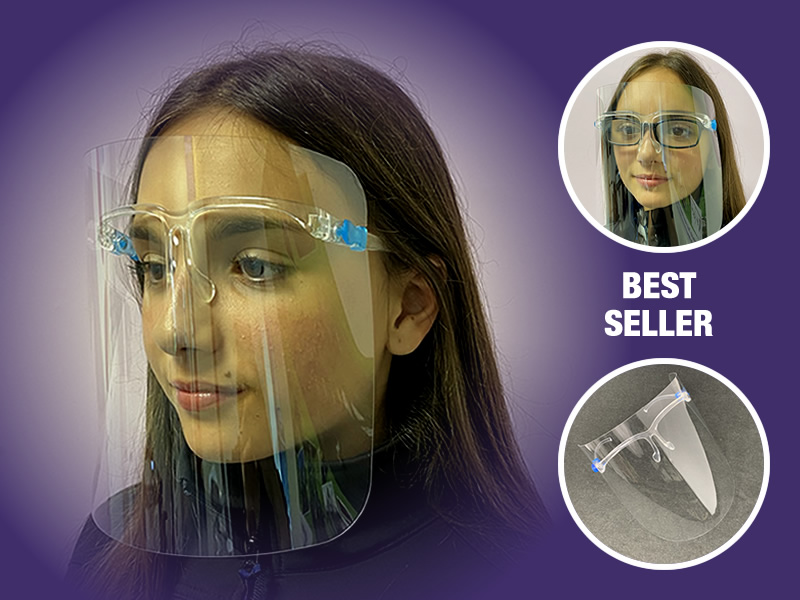 Reusable Face Shield Glasses