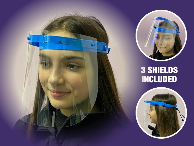 Reusable Flip-Up Visor Pack